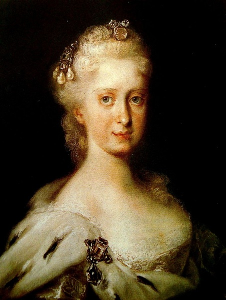 Maria Josepha by Rosalba Carriera