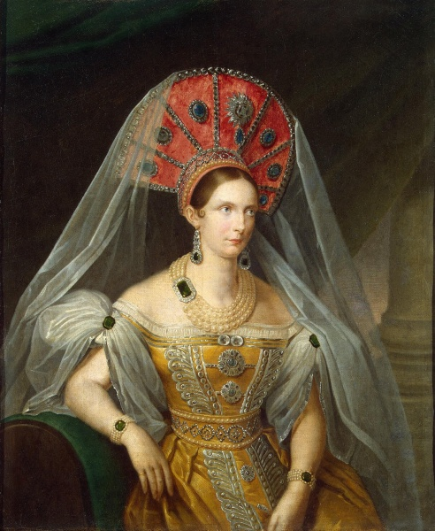 Charlotte of Prussia by A. Maliukov