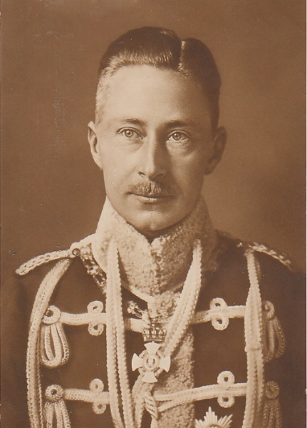 Crown Prince Wilhelm Of Prussia And The German Empire