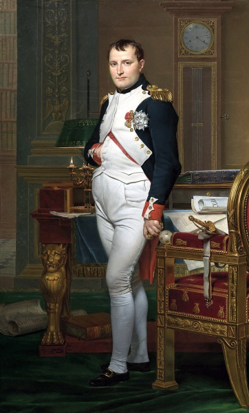 Napoleon I by Jacques-Louis David