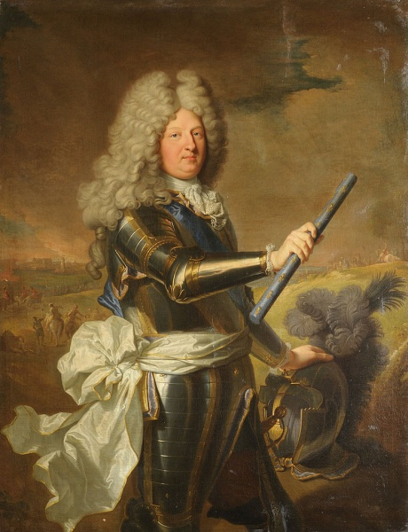 Louis by Hyacinthe Rigaud