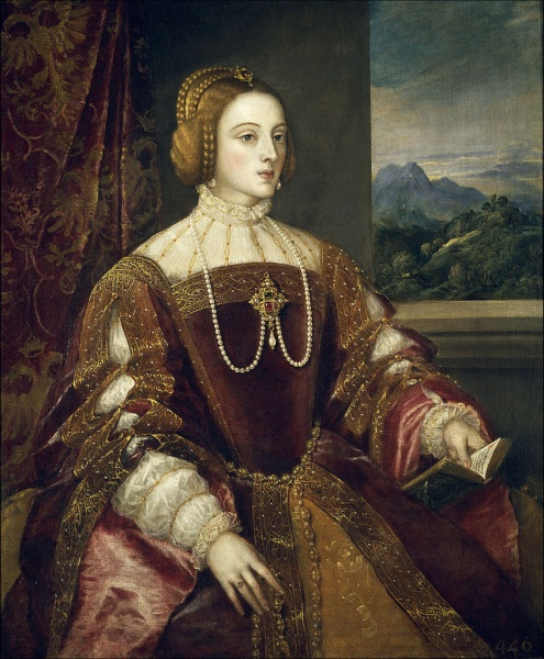 Isabella by Titian