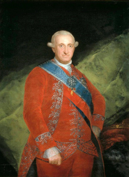 Carlos IV by Francisco de Goya