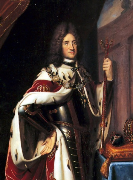 King Friedrich I in Prussia