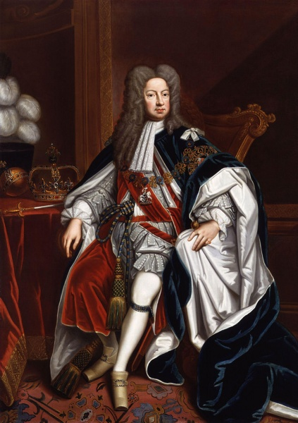 George I by Sir Godfrey Kneller