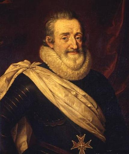 Henri IV by Frans Pourbus the Younger