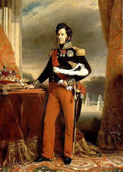 Louis Philippe I by Franz Xaver Winterhalter