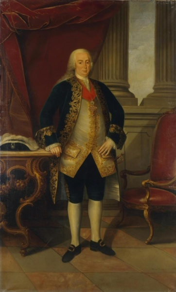 Pedro III by Miguel António do Amaral