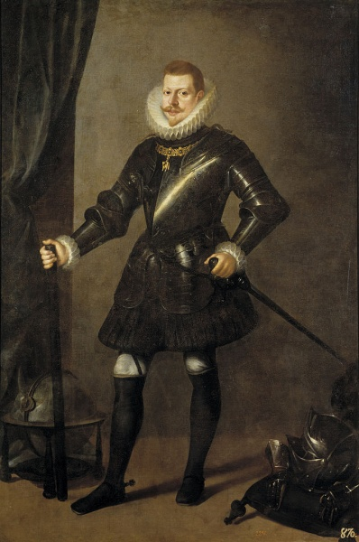 Philip III by Pedro Antonio Vidal