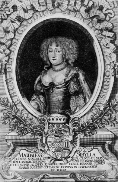 Magdalena Sibylla of Saxe-Weissenfels