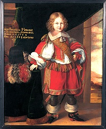 Margrave Johann Friedrich of Brandenburg-Ansbach as a child by Benjamin Block