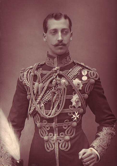 Prince Albert Victor by William and Daniel Downey