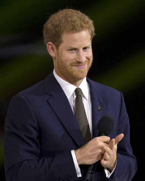 Prince Harry at the 2017 Invictus Games, source: E. J. Hersom