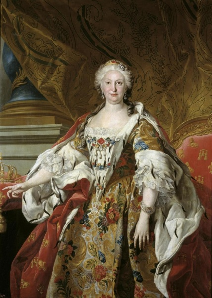 Elisabeth by Louis-Michel van Loo