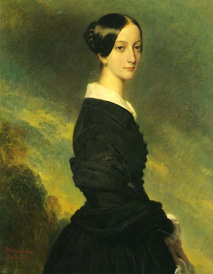Francisca by Franz Xaver Winterhalter