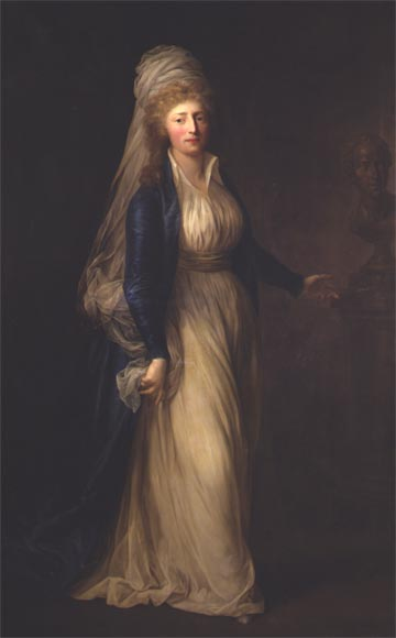 Louise Auguste by Anton Graff