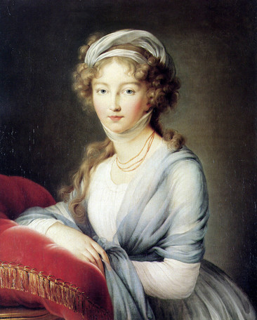 Louise by Madame Vigee-Lebrun