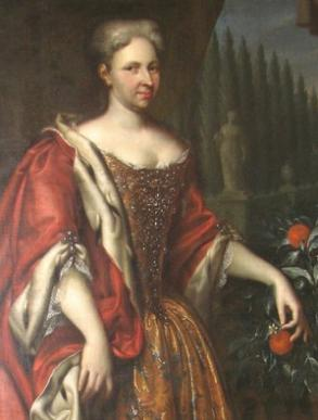 Princess Magdalena Augusta of Anhalt-Zerbst by Christian Schilbach