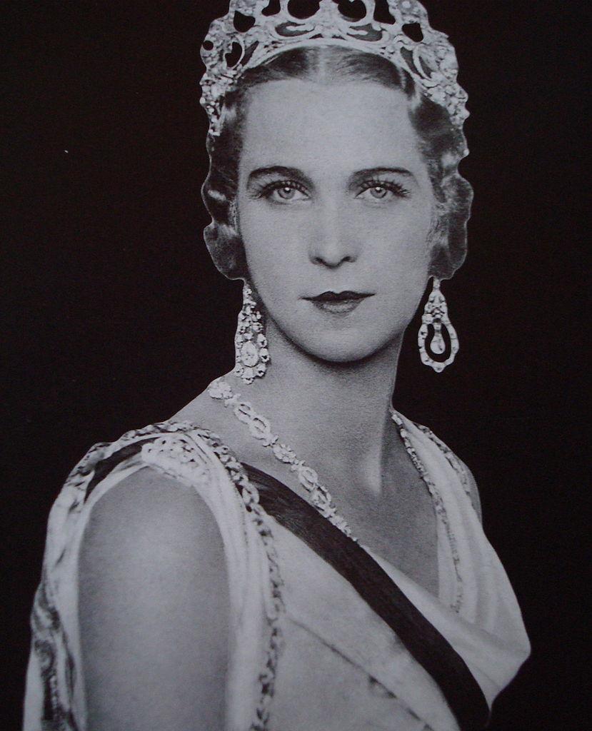 Princess Marie José of Belgium, Queen consort of Italy